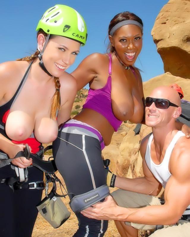 Спортивные девушки занялись аналом на свежем воздухе