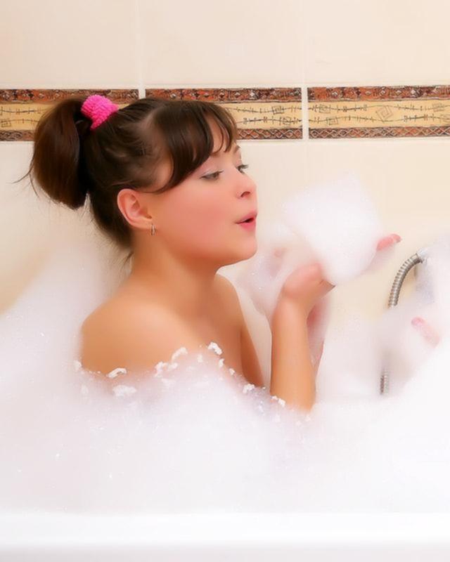 Лесбийская оргия в ванной